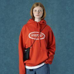 [앤커버] Signature logo hoodie-red