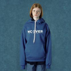 [앤커버] String point hoodie-blue
