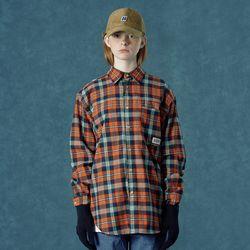 [앤커버] Barcode shirt-orange