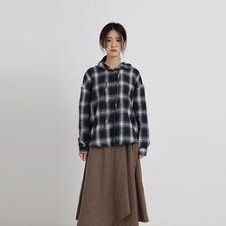 check hood shirt (2colors)