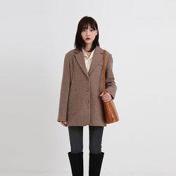 pin wool jacket (2colors)