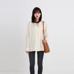 way collar blouse (2colors)