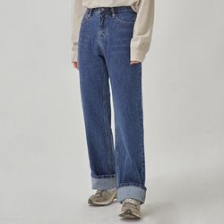 choose roll up straight pants (s m l)