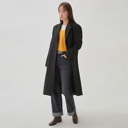 january wool single coat