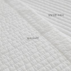 베로나모달패드-화이트(싱글이불-퀸패드겸용)