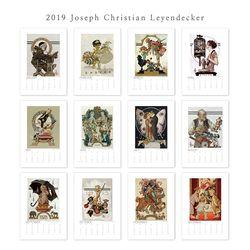 [2019 캘린더] Joseph Christian Leyendecker 조셉 레이엔데커