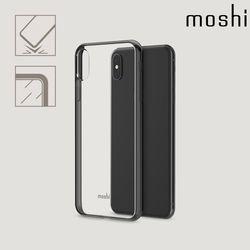 모쉬 아이폰XS Max 비트로스 투명 소프트케이스블랙