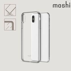 모쉬 아이폰XS Max 비트로스 투명 소프트케이스실버