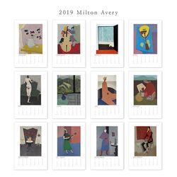 [2019 명화 캘린더] Milton Avery 밀턴 에브리