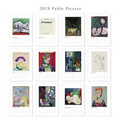 [2019 명화 캘린더] Pablo 파블로