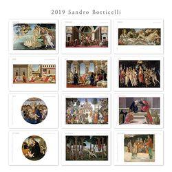 [2019 명화 캘린더] Sandro Botticelli 산드로 보티첼리