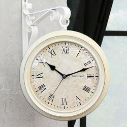 무소음빈티지소프트양면시계240