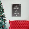 Merry christmas & happy new year B - A4 인테리어 메탈액자