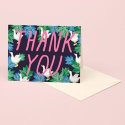 DUCK THANK YOU CARD
