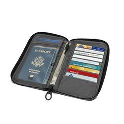 passport wallet (Heather Gray)