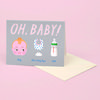 OH BABY CARD FOR BABY SHOWER