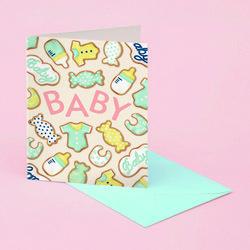 BABY COOKIES CARD