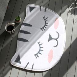 발매트 잠자는고양이 50x70