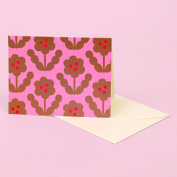 BLOSSOM GOLD GREETING CARD GOLD PETAL