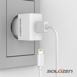 솔로젠 USB 충전기 케이블 세트 (8핀)
