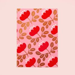 만년형 BLOSSOM GOLD PLANNER RED PETAL