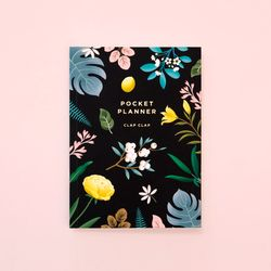 만년형 BOTANICAL POCKET PLANNER – BLACK