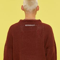 NEONDUST. COLOR KNIT Brown