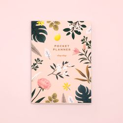 만년형 BOTANICAL POCKET PLANNER PINK