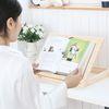 편백나무 각도조절 보조책상 독서대 500