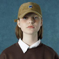 [앤커버] Corduroy cap-brown