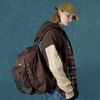 Authentic backpack-brown