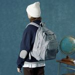 Authentic backpack-gray