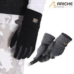 폴리 손목 남성 양손장갑/겨울골프장갑/방한