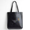 LEATHER ECOBAG -YS2038BR BALCK