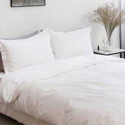 엘레나 60수 호텔 자수 이불커버 WHITE(S SET)