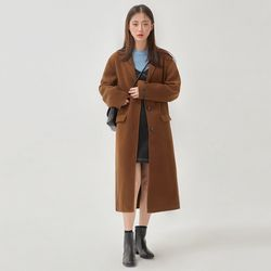 maple long handmade coat (wool50)