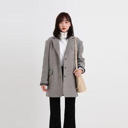 boy fit boxy wool jacket (2colors)