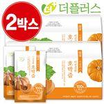 [국내산] 더건강한 호박즙 90ml 2박스(60포)