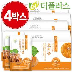 [국내산] 더건강한 호박즙 90ml 4박스(120포)