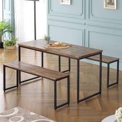 주드 모던 1400 스틸 철제 테이블