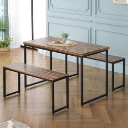 주드 모던 1200 스틸 철제 테이블
