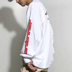 Harder Bass Long Sleeves (White)