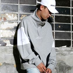 Harder Half Zip-up (Gray)