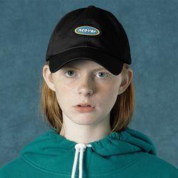 [앤커버] Rubber logo cap-black