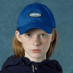 [앤커버] Rubber logo cap-blue