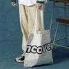 [앤커버] Signature logo eco bag-ivory