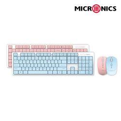 MANIC 무선 합본 키보드 마우스 세트 K160