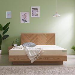 라노체 유럽라텍스 트리샤 평상형 침대 퀸
