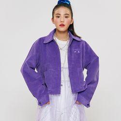 CORDUROY JACKET Purple