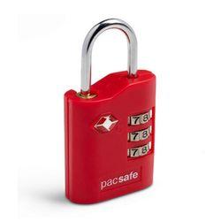 팩세이프 고강도 TSA 자물쇠 PROSAFE 700 레드